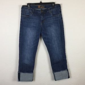 Kut from the Kloth Rolled Cuff Boyfriend Jeans